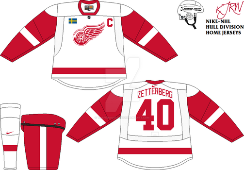 Detroit Red Wings Home V2 by thepegasus1935