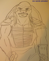 2014 MOVIE LEONARDO by TMNTFAN85