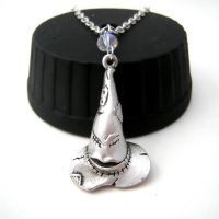Harry Potter Sorting Hat Crystal Necklace by GeekStarCostuming