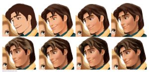 Flynn Rider WIP.. by keikei11
