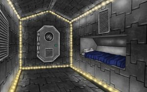 Spaceship Bunk by storykween