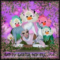Happy Easter My Friends by im1happy