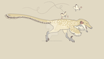 Velociraptor (with troubles) by paleozoografica