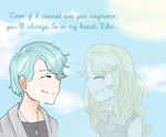 Always In My Heart- Rika and V by Windaura