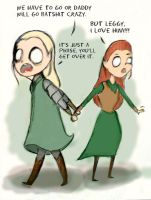 Tauriel x Leggy by perphation