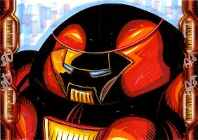 IM2 Sketch Cards: Hulk Buster by FrankRapoza