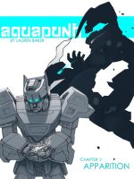 Aquapunk Cover No 1 by stripedwine