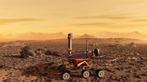 Mars Rover Excursion by ralfmaeder