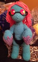 Crochet Cteno progress update by KittysoftPaws-o3