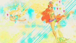 Ella 'n' Maci Wallpaper by Charming--Primrose