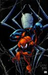 Creepy Spidey Colours by Creation-Matrix