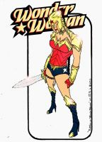 the Warrior Wonder Woman  by JLZ74