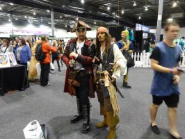 Oz Comic-Con Adelaide 2015: Pirates by lizardman22