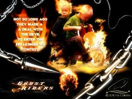 Ghost Riders-FN Contest Entry by CaWoDa