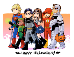 HAPPY HALLOWEEN by Sii-SEN