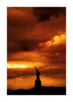 Darkness over Liberty by nico-blue
