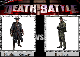 Haytham Kenway vs. Big Boss by JasonPictures