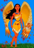 Pocahontas Wind Spirit by Sweets9232