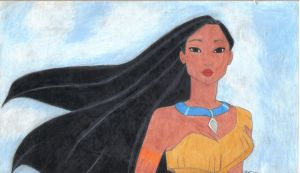 Pocahontas by Gryffingirl77