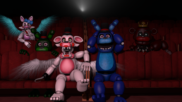 [FNAF SFM] Horror movies with friends by OfficialAbbySFM