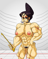 Skullgirls: Lusty Lessons with Mrs. Victoria by atractivemonkey007