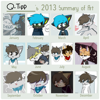 2013 Summary of Art by QTipps