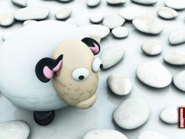 Archigraphs Sheep Wallpapers by Cyberella74