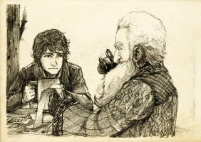 Discovering Mr Baggins - Balin by Nazgullow