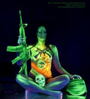 UV bodypainting WAR inside by KilledCZ