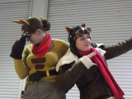 Skylanders: Cali and Flynn Cosplays by Mew-Mew-Rocky