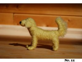 Needle felted golden by Pawkeye