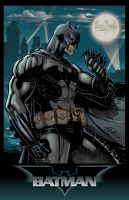Batman Rain- Colors by SaviorsSon