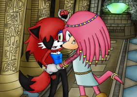 Kleo The Echidna Vs PaigePonPon's Igneous by Ozone-O3