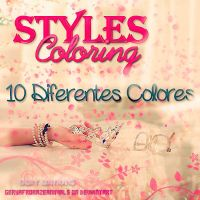 +Pack de Styles Coloring. by BeCreativePeople
