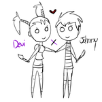 Devi x Johnny by WolvesPoniesOhMy