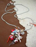 Specimen Cluster Necklace by janedean