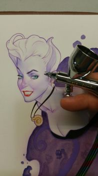 Trying out the new airbrush by MarioChavez