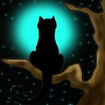 Moon cat by RedMayer