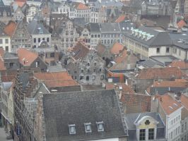 Gent: Cityscape by SilverQuill