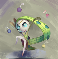 Flat Brush Meloetta by TheBoogie