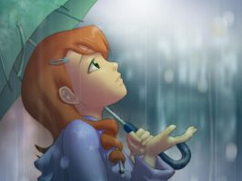 raindrops keep fallin'... by chesterocampo