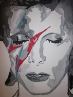 Bowie by 3rdwoman