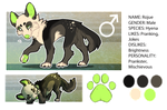 Rojue ref by Redrie