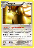 Pidgeot Card Custom Foil by chazolave