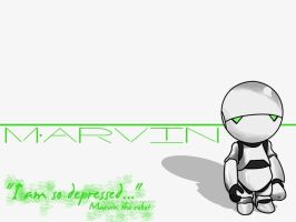 Marvin wallpaper by sakuracamui