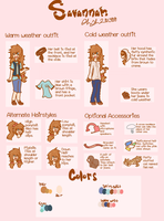 { Savannah's Reference } by Samagirl