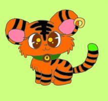 OC Jewelpet Tigra (Request) by Alice-of-Africa