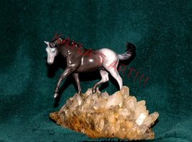 1ST CUSTOM PAINTED BREYER. by kkrex