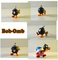 Weekly Sculpture: Bob-Omb by ClayPita