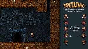 Download Spelunky Iron Man Skin by NoobGamer75